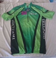De Marchi Trek Irish Cycling Federation NWT NEW VINTAGE Jersey Cycling L Clover