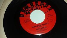 """JIMMY BOWEN Ever Louvin Fingers / I'm Stickin With You ROULETTE ROCKABILLY 45 7"""""""