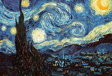STARRY NIGHT Poster - Full Size 24x36 Print ~ Vincent Van Gogh Art