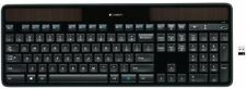 Logitech Wireless Solar Ultra-thin Keyboard K750 With USB Unifying Receiver