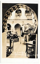 Real Photo Postcard Patio View at Palomar Apartments in San Diego, CA~103439