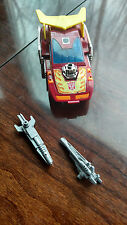 Transformers G1 Lot Hotrod Vintage Rubber Wheels Metal Comes with Acc. 80s Toys!