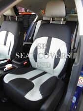 TO FIT A NISSAN NAVARA, CAR SEAT COVERS, ROSSINI ELEGANCE GREY