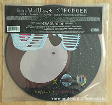 "Kanye West STRONGER 2007 Roc-a-fella Picture Disc UK 12"" RARE Graduation"