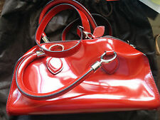 Coccinelle Red Patent Leather Purse