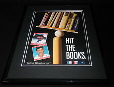 Andre Dawson Don Mattingly Facsimile Signed Framed 1991 Advertising Display
