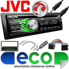 Vauxhall Corsa C 2000-2004 JVC Car Stereo Radio CD MP3 AUX In Upgrade Kit Grey