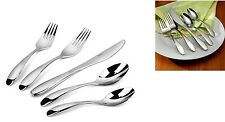 Oneida Stafford Mirror 65 Piece 18/10 Stainless Flatware Service for 12