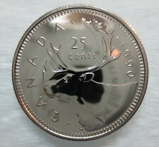 1990 CANADA 25 CENTS PROOF-LIKE COIN