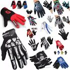 MTB Moto Bicicletta Bici Cycling ciclismo Guanti Bicycle Long Full Finger Gloves