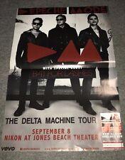 Depeche Mode The Delta Machine Tour Original Concert Poster 2013 Bat for Lashes