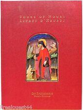 Books of hours livres d'heures catalogue 9 Louvre les antiquaires bilingue 2000