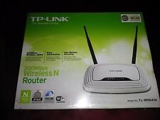 TP-Link TL-WR841N v11.1 N300 300Mbps Wireless Home Router, IP QoS, WPS Button