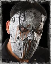 SLIPKNOT MICK THOMSON MASK Costume Gray Silver Latex Hope Heavy Metal LICENSED