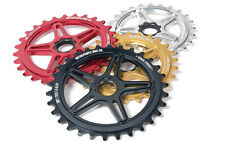 WETHEPEOPLE BMX TURMOIL SPROCKET CHAINRING 28 TEETH SPLINE DRIVE MATT BRASS