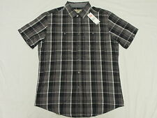 $48 NWT NEW Mens Ecko Unltd Button Down Shirt Twill Plaid Woven Urban Sz S K515