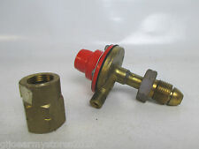 Army No5 Field Cooker Propane Gas Regulator & Brass Reducer Preset 20 Bar MOD