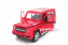 Free Shipping Mercedes Benz G-Class G65 Diecast Model Toy Car Plating Red New