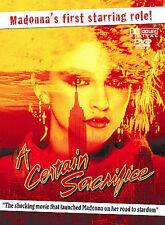 A CERTAIN SACRIFICE rare dvd MADONNA Movie Debut New York Lower East Side 1979