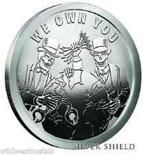 "SILVER SHIELD ""WE OWN YOU "" - PROOF PYRAMID OF POWER **LAST STOCK** SBSS ART"