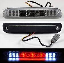 Ford F250 F350 F450 F550 Super Duty 99-14 Rear 3rd LED Stop Brake Light Clear