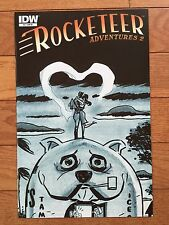 IDW ROCKETEER ADVENTURES 2 #2 DARWYN COOKE B&W Sketch Cover RI Variant NM