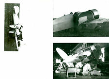 LOT OF 3: WILLIAMS #22 1932 R. TURNER'S 1ST RACING AIRPLANE PHOTOGRAPH SET #70