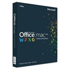 Microsoft Office Home & Business 2011 per Mac product key ORIGINALE FATTURABILE