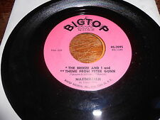 Maximillian 60s POP ROCK 45 The Breeze and I and Theme from Peter Gunn / Twistin