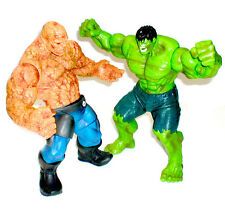 "MARVEL LEGENDS COMICS HULK VS la cosa dettagliate 10 ""figura SET LOTTO, Avengers"