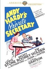 ANDY HARDY'S PRIVATE SECRETARY - (1941 Mickey Rooney) Region Free DVD - Sealed