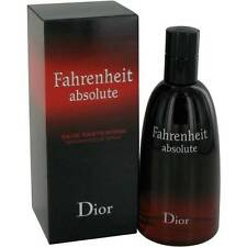 Fahrenheit Absolute Christian Dior 100ml/ 3.4oz EDT Intense Perfume Spray Sealed
