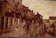TOUTE PETITE PHOTO GUERRE WAR KRIEG 14/18 ARTILLERIE SOLDATS SUR CANON