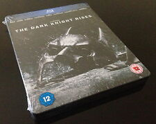 STEELBOOK BLU RAY BATMAN THE DARK KNIGHT RISES HMV EXCLUSIVE // NO BLUE BANNER