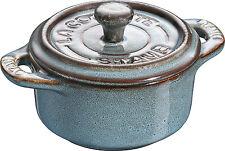 Staub Ceramica 6 Set Dessert Bowl Piatto Cottura Mini Cocotte,tondo