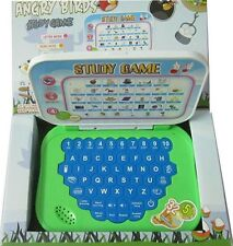 Mini Angry Birds Laptop English Learner Notebook Computer Toy kid baby Child