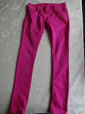M&Co Kylie Barbie Pink Girls' Jeans (Hipster) (9 yrs. Ht 134 cms)