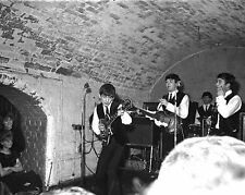 "Beatles at The Cavern Club 10"" x 8"" Photograph no 16"