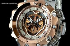NEW Invicta Reserve VENOM Hybrid 5040F Brown Dial Rose Gold Tone Bracelet Watch