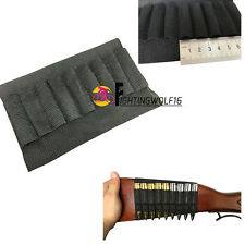 New 9 Shells Strip Bullet Pouch Military Tactical Carrier Hunting Rifle Holder