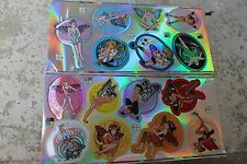 Pixie Pals Fairy Tinkerbell Disney Japan Anime Stickers - Lot of 375 (50 sheets)