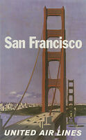 238 Vintage Travel Poster Art San Francisco *FREE POSTERS