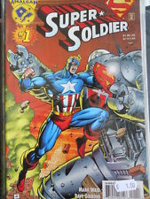 SUPER SOLDIER  n°1 1996 ed. DC Comics  [SA2]