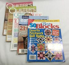 Lot Of Quilting Magazines Best Blocks Fons & Porter Quilter's Home World