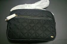 NWT Juicy Couture Larchmont Black & Gold Black Camera Crossbody Bag YHRU3882