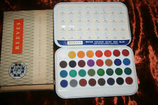 Reeves Water Colour Paints No. 85 - Metal Boxed -  Centenary Label - vintage