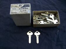 2  VINTAGE CORBIN  Key BLANKS     GOOD FOR LOCKSMITH,ART, STAMPING ...