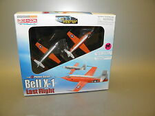 DRAGON 51025 WARBIRDS BELL X-1 LAST FLIGHT 2-PK 1:144 PLASTIC PLANES w/INTERIOR