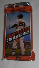 SGA 8/17 SF Giants 2014 Topps Team Set Cards sponsor by Coca-Cola not EMERALD