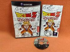 Dragon Ball Z Sagas Nintendo Game Cube Gamecube Super Fast FREE SHIP Complete!
